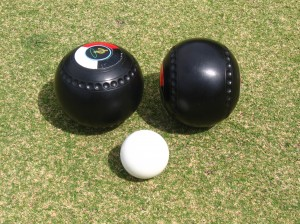 Lawn Bowls and Kitty